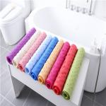 Sustainable 78*35CM Durable Bath Mat Strong Grip Mat