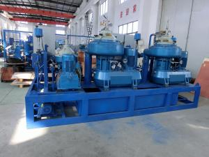 China 10000L / H Biger Fuel Oil Purifier System , Transformer Oil Purifier Machine on sale