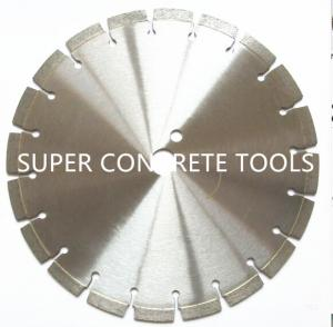China Cured Concrete Bricks Wet Use Diamond Saw Blades for Floor And Road Cutting on sale