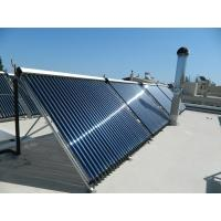 China heat pipe evacuated tube solar collector on sale
