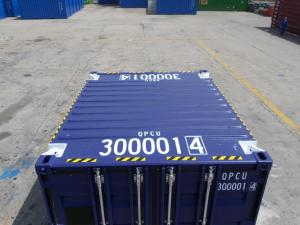 China 10ft Offshore Container Shipping Transportation Corten Steel Customized Color on sale