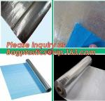 professional woven cloth fabric braided thermal insulation material for house,Tarpaulin Laminated Aluminum Foil material