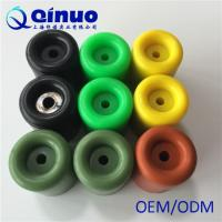 China Shanghai Qinuo Manufacture 20x10mm Silicone Molded Door Stop Rubber on sale