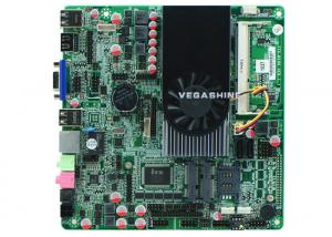 China Intel Dual Core 1037U CPU super thin All In One Pc mainboard DC power in on sale