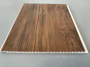 Quality 10 Inch Wooden Laminate Ceiling Panels Thickness 7 5mm For