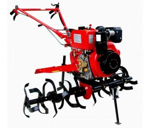 China Single cylinder multi functional Gasoline Tiller for tractors , yard machine tiller on sale