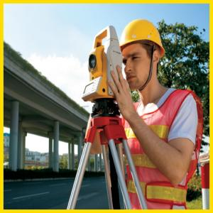 China 2 accuracy widely used engineering use total station for sale on sale