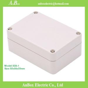 China 83*58*33mm IP65 small outdoor Plastic electrical enclosure box plastic box enclosure on sale