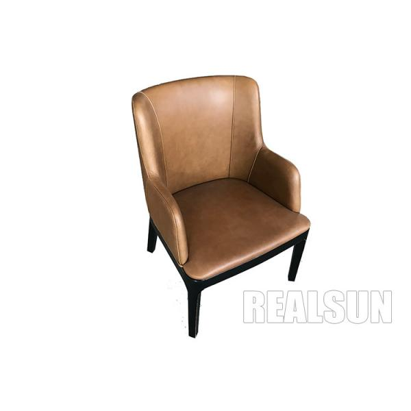 Pu Leather Dining Chairs Metal Leg
