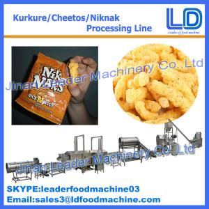China small scale kurkure extruder machine plant manufacturer made in china supplier