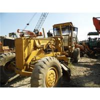China GD661A-1 Used KOMATSU Grader / Road Grader KOMATSU S6D105 Engine 179HP Power on sale