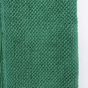 China Microfiber Antibacterial Glass Window Cleaning Cloth and Household Envirom Dusting Cloth antivirus,Green color on sale