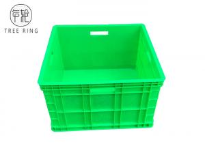 China Heavy Duty Polypropylene Stacking Boxes , Auto Square Plastic Hobby Box on sale