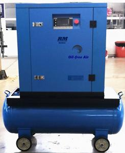 China 5.5kw 8bar 10bar 115psi 145psi Anest Iwata silent oil- free air compressor on sale