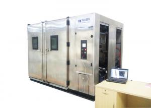 China Glass Watch Window Walk In Environmental Test Chambers For Plastics / Electronics on sale