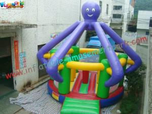China Kids Funny Inflatables Bouncy Castles , Inflatable Jumper House With CE / EN14960 on sale