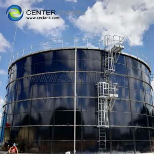 China Bolted Glass Fused Steel Storage Tanks For Industrial Liquid Storage on sale