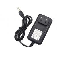 China Wall Mount AC DC Power Adapter 12V 1A Low Ripple Noise With 4.8 * 1.7mm Connector on sale