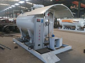 China 5tons skid lpg gas filling stationwith digital weighting scale for sale, hot sale 12,000L skid mounted propane gas plant on sale