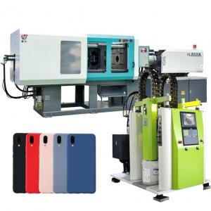 China Phone Case Making Servo Energy Saving Injection Molding Machine Closed Loop Control on sale