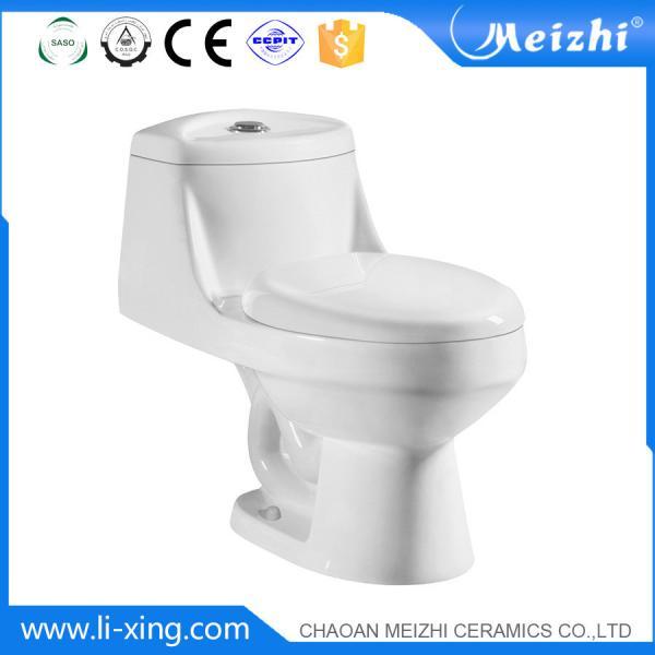 One Piece Ceramic Toilet Water Ridge Dual Flush Cera Seat Images