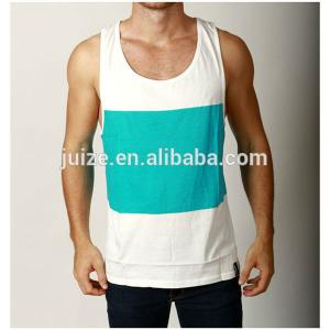 China Wholesale customized printed cotton tank tops for men gym tank top on sale