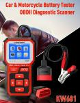 OBD Diagnose EFB AGM KONNWEI Battery Tester 0.77W For Car