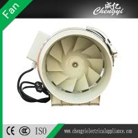 China Axial Ventilation Exhaust Plastic 100mm AC Silent 4 Inch Electric 220V Inline Duct Fan on sale