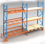 Heavy Duty Long Span Metal Storage Shelves For Industrial Factory