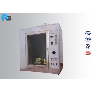 High Precision Electrical Safety Test Equipment , 1000℃ Glow Wire Test Apparatus