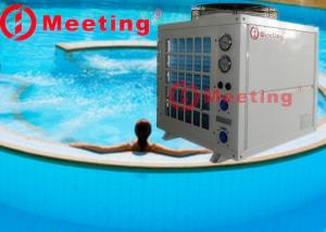 China Industrial Air Cooled Chiller with Stainless Steel Water Cooler Tank for Swimming Pool on sale