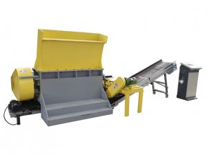 China Pallet grinder wood pallet shredder for mulch, Wooden pallet chips machine on sale