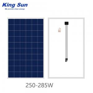 China IP67 285W TUV Polycrystalline Solar Panel , Solar Photovoltaic Panels on sale
