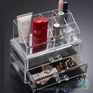 China clear acrylic lockable storage box on sale