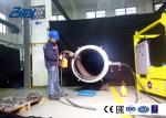 DN600 Pipe Beveling machine , Pipe Cutter, Hydraulic driven, Star Wheel System