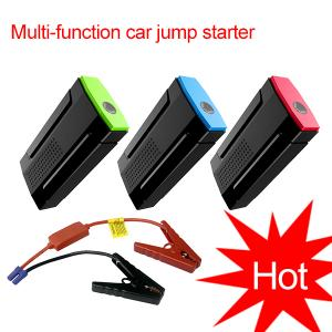 China Mini car battery charger portable jump starter multi-function jump starter on sale