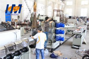 China 190KW Plastic Sheet Extrusion Line , PVC Sheet Making Machine 0.2-20mm Thickness on sale