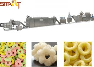 China WEG Motor ABB Electric Parts SR -70 Corn Puff Extruder Machine , Corn Puff Making Machine on sale