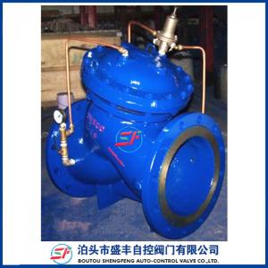 China AX742 safety relief valve ductile iron safe relief valve on sale