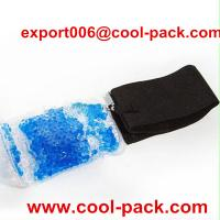China durable gel bead hot and cold pack for waist on sale