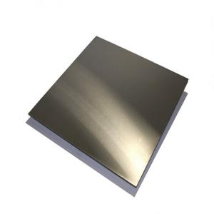 China AISI304 316 Food Grade 304 Stainless Steel Sheet Hair Line Finished For Kitchen Ware on sale