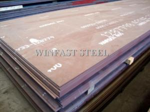 China NM 400 Hot Rolled Steel Plate / Hardox 400 / 450 / 500 / 600 Steel Sheet Tempered supplier