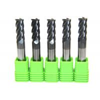 China Solid Carbide Corner Radius Milling Cutters 0.2 μm Grain Size High Efficiency on sale