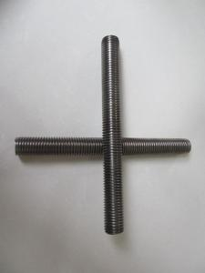 China low carbon steel threaded rod on sale