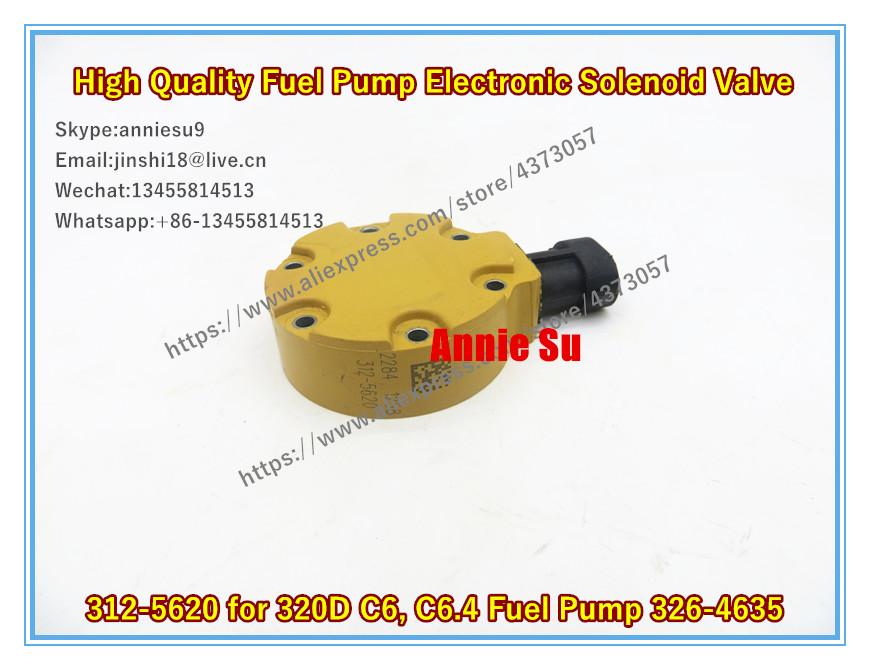 Genuine Electronic Solenoid Valves 312-5620 For Caterpillar 320D 326-4635 C6.4