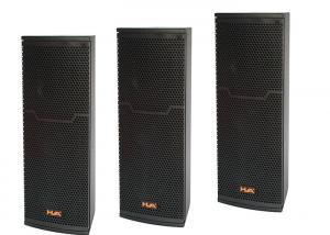 China Portable Line Array Column Speaker Cabinets 2 x 6.5 200W 4 OHM For Conference Hall on sale