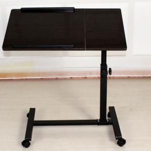 Quality Small Rolling Adjule Laptop Table Tiltable Tabletop Desk Tv Stand Dx Bj17 For