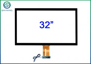 China 32 Inches ITO Technology Capacitive Touch Screen Panel Kit With USB Cable on sale