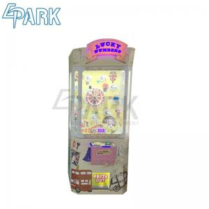 China Coin Operated Lucky Number Random Win Rate Crane Claw Machine / Crane Toy Vending Machine on sale