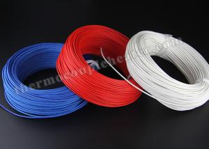 China Electric Heater High Temperature Cable , Silicon Rubber Insulated Heating Wire on sale
